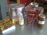 Strawberry Jam Makin' (and canning)…
